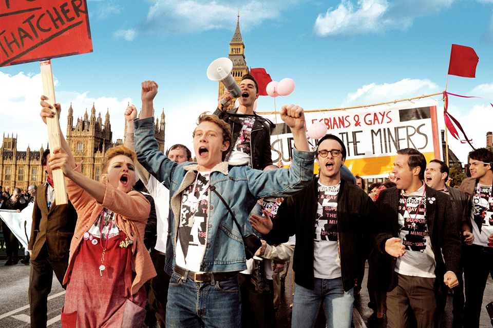 PRIDE© PATHE PRODUCTIONS LIMITED. BRITISH BROADCASTING CORPORATION AND THE BRITISH FILM INSTITUTE 2014. ALL RIGHTS RESERVED.